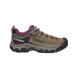 KEEN Targhee III WP Womens Weiss Boysenberry