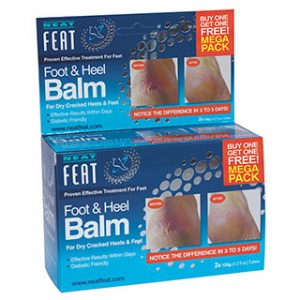 Neat Feet Foot and Heel Balm 2 for 1 120gm